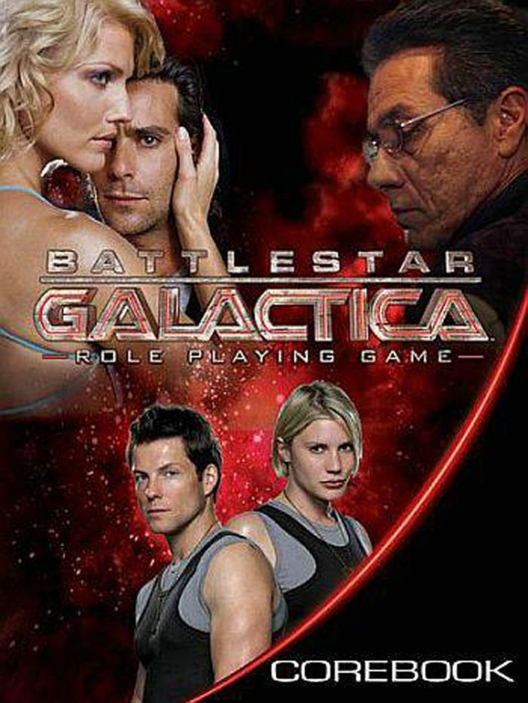 battlestar galactica rpg core book by margaret weis productions