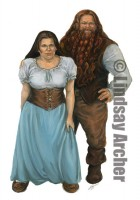 2007-DragonLance-Dwarf_Couple